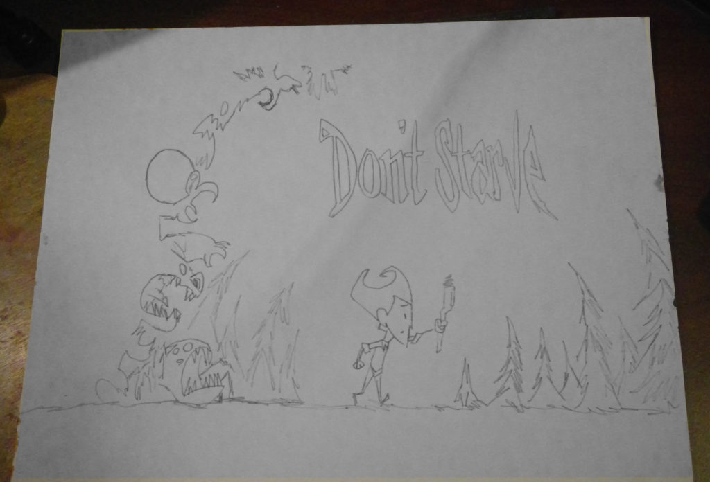 Dont Starve 1 Sketch