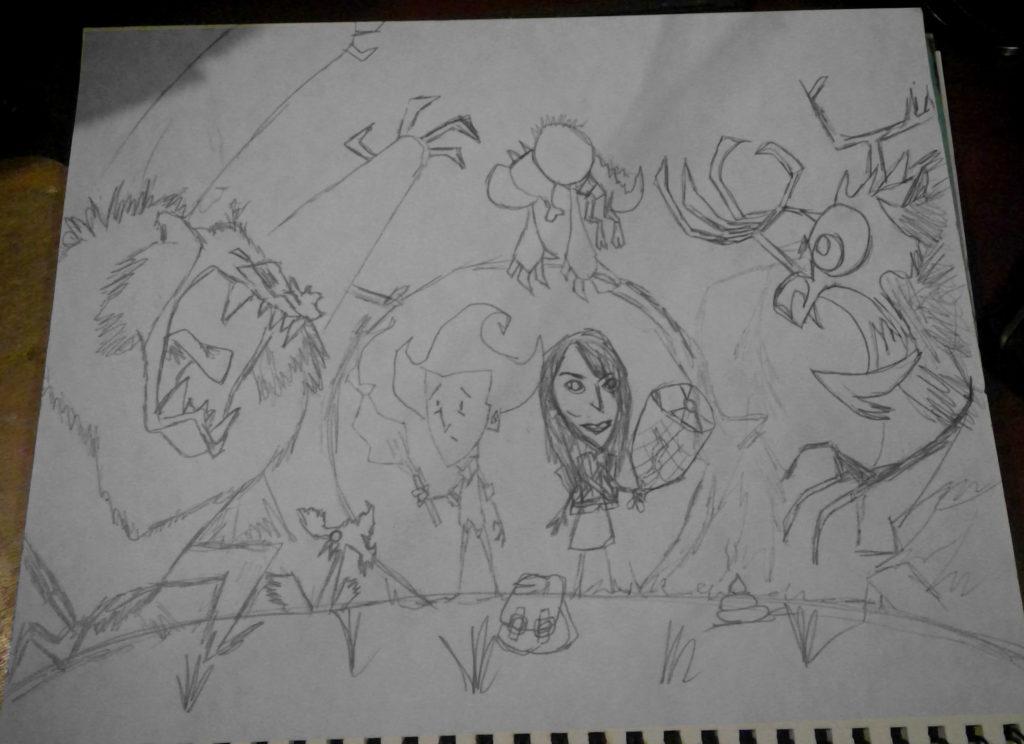 Dont Starve 3 Sketch