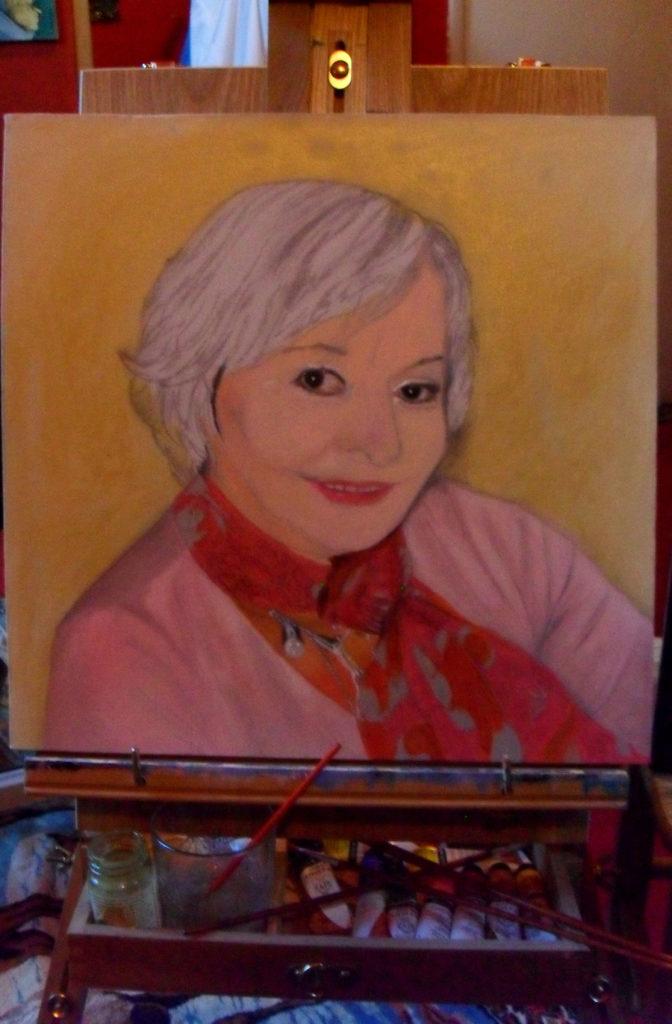 Mother Sueli Painting