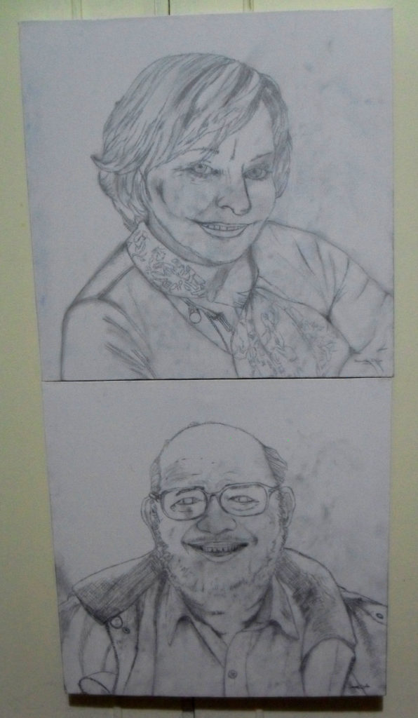 Mother and Father Sketches