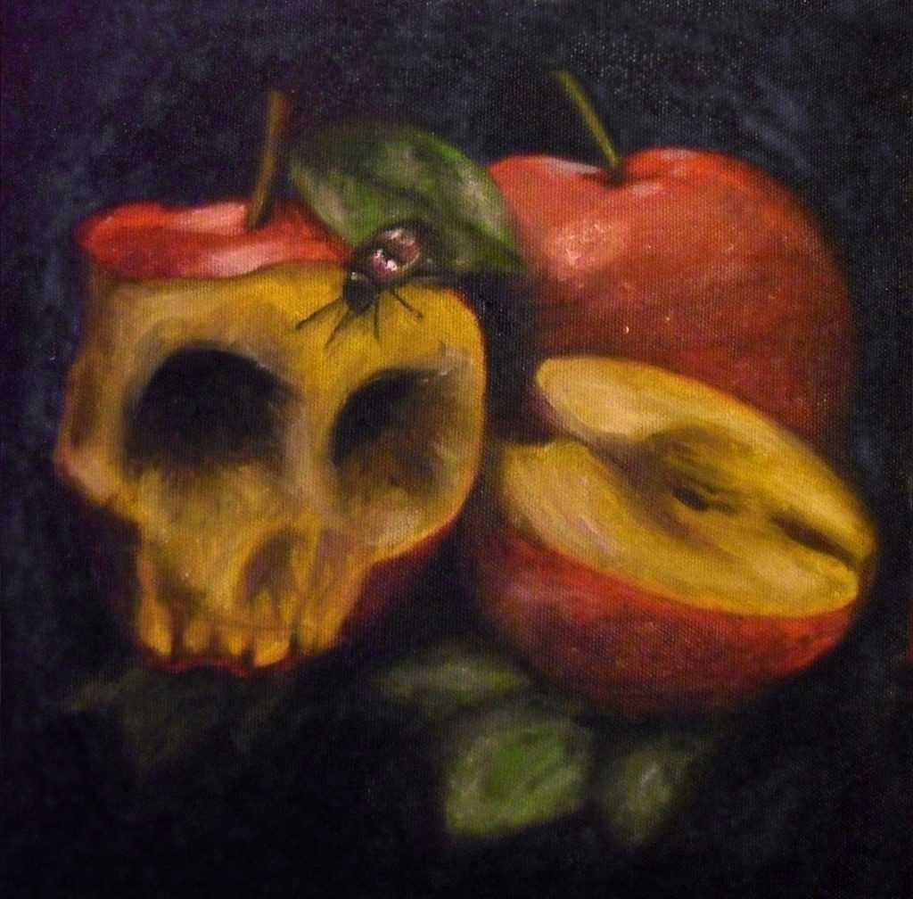 Apples, Oil Painting by Fernando Bello